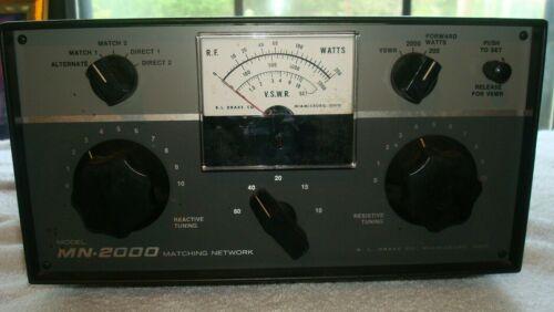 Drake MN-2000 Vintage Ham Radio Matching Network FREE SHIPPING