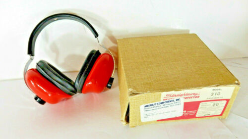 Vintage David Clark Straightaway Ear Hearing Protector Protection Model 310, USA