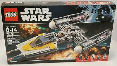 LEGO Star Wars 75172 Y-wing Starfighter - 691 Pcs - New & Sealed (damaged box)