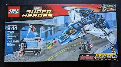 LEGO Avengers The Avengers Quinjet City Chase #76032 Brand New in Sealed Box