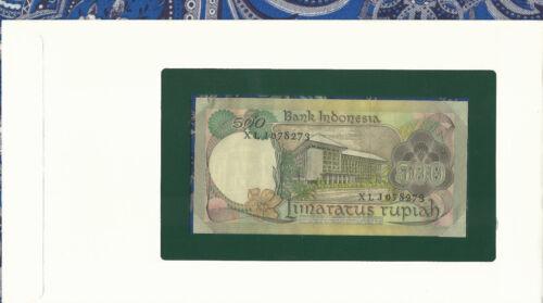 Banknotes All Nations Indonesia 100 Rupiah 1977 P117 AUNC Prefix XLJ Replacement