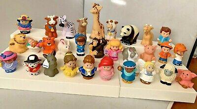 LOT of 30 Fisher Price Little People Zoo Talker Disney Princess Nativity Animals