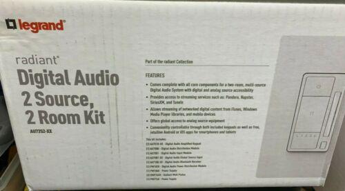 Radiant Digital Audio 2 Source, 2 Room Kit