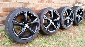 18in mag wheels, 5x120 suit commodore, bmw - 4 off Wongawallan Gold Coast North Preview
