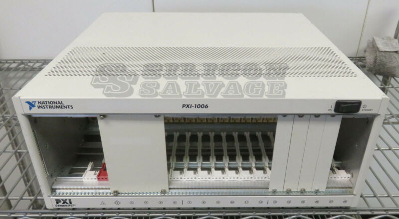 National Instruments 18-Slot PXI Chassis Mainframe PXI-1006
