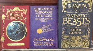 Fantastic beasts, Harry Potter books