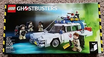 Lego Ideas Ghostbusters Ecto 1 21108 Brand New Factory Sealed