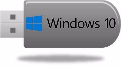 Microsoft Windows 10 Bootable Usb Drive Repair Install April 2018 Update
