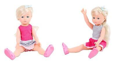 Simba Madeleine Mädchenpuppe mit Haaren 36 cm (Rosa-Pink) (Puppe Mit Haar)