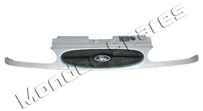 GENUINE FORD GALAXY MK1 MOONDUST SILVER FRONT GRILL WITHOUT FORD BADGE 1994-2000 for sale  Shipping to Ireland