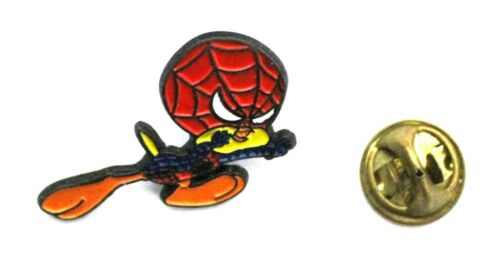 "1990s WB / Warner Bros SPIDER-TWEETY lapel pin 3 x 2.25 cm. (1.2"" x 0.9"") approx"