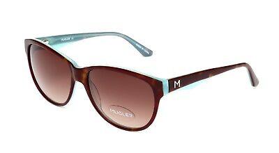 Mugler TR2000 Women's Tortoise Blue Sunglasses 1190