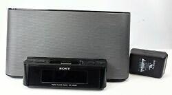 Sony ICF-CS10iP  Dream Machine AM/FM Clock Radio W/iPod iPhone Speaker Dock Gray