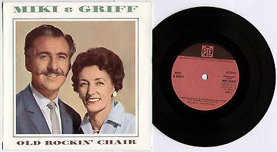 "MIKI & GRIFF ~ OLD ROCKIN' CHAIR ~ 1965 UK 4-TRACK MONO 7"" EP SINGLE + P/S"