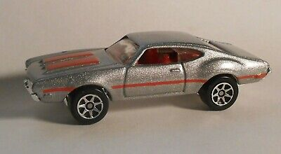HOT WHEELS OLDS 442 W-30 loose from 60s Muscle Cars 5 pack 1996 silver 7spoke