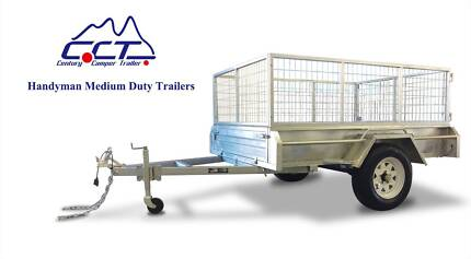 CCT 7×4 Fully Welded Hot Galvanized Heavy Duty Box Trailer Salisbury Brisbane South West Preview