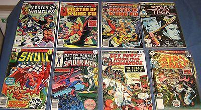 8 Miscellaneous Bronze Age Marvel Comics Lot #3
