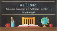MATHEMATICS tutor - Bilingual - $25
