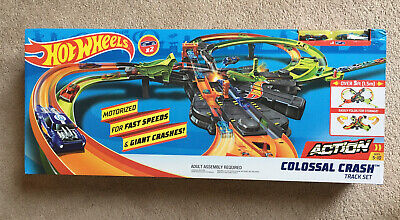 Hot Wheels Colossal Crash Track Set-Over 5 Feet!