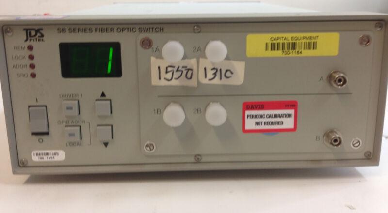 Jds Fitel Sb04b5-d2fp Sb Series Fiber Optic Switch  1x4