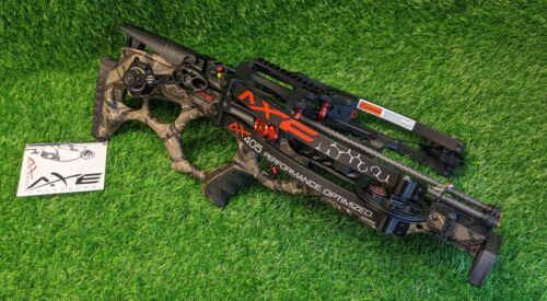Axe Crossbows AX405, Multi-Pattern Camo, 405 FPS, w/ Illum. Scope - AX40001