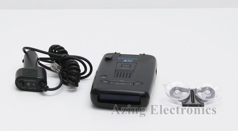 Escort X80 Laser Radar Detector - Black