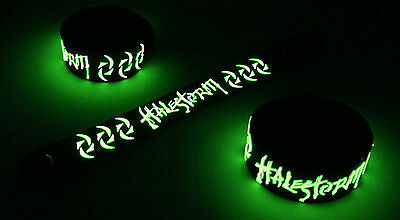 Halestorm NEW! Glow in the Dark Rubber Bracelet Wristband Apocalyptic vg207
