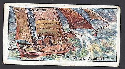 COPE - BOATS OF THE WORLD - #37 SWEDISH MACKEREL BOAT