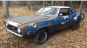 WANTED Camaro project 1967,1968,1969