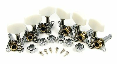 Set of 6 Open-Gear Guitar Tuners/Machine Heads (3L/3R) @ a Great Price!