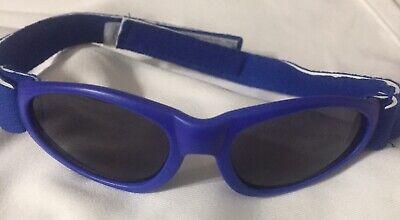 LITTLE LLAMA SOFT INFANT(0-6 MONTHS) UNISEX SUNGLASSES BLUE; (Infant Sunglasses 0 6 Months)