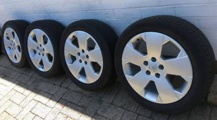 "17"" Genuine Holden Opel Wheels, center bore: 65.1 mm, 5x110"