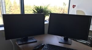 Dell desk top monitors.