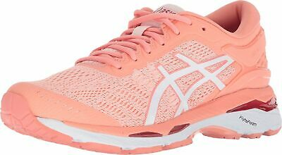 ASICS Gel-Kayano 24 Women's Running Shoe, Seashell Pink/White/Begonia Pink, 9...