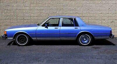 1984 Chevrolet Caprice Classic Rare Antique Survivor Runs Great Carfax NO RESERVE Clean