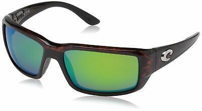 Green Plastic Sunglasses (Costa Del Mar Fantail Sunglasses, Tortoise, Green Mirror 580 Plastic)