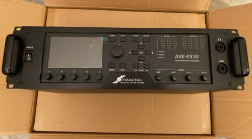 Fractal Audio Systems Axe-FX III 3 Guitar Multi-Effects Processor Near MINT!