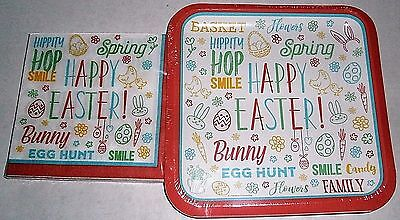 EASTER Paper Plates and Luncheon Napkins  EASTER - Easter Plates And Napkins
