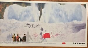RADIOHEAD KID A SNOWSCAPE  Poster Stanley Donwood Art 36 X 19 MINT Condition
