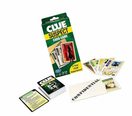 CLUE: SUSPECT - The Detective Card Game FASTER GAME PLAY