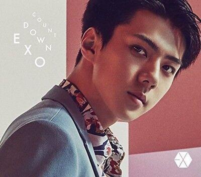 EXO Japan 1st Full Album [COUNTDOWN] (CD+Photobook+Photocard) SEHUN ver.