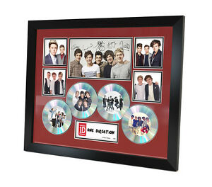 One Direction (1D) - Signed Memorabilia - Limited Edition Certificate - Framed