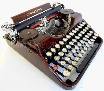 Continental Schreibmaschine, typewriter, machine à écrir, máquina de escribir