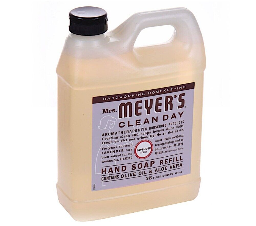 MRS MEYERS Clean Day Lavender Hand Soap Refill Moisturizing
