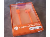 Brand new unopened cable for ipod/iphone/ipad - charge and sync USB lead