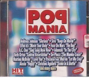 POP-MANIA-COMPILATION-2000-CD-NUOVO-Eiffel-65-Adamski-DePhazz