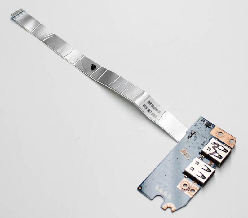 "Ls-6973p Gateway Pc Board Dual Usb Port Board W/ Cable Nv55s09u ""grade A"""