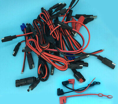 Lot 10awg 14awg 18awg Battery Quick Disconnect Connect 2-pin Sae Extension Wire