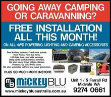 FREE INSTALLATION ON ALL 4WD ACCESSORIES SOLD AT MICKEYBLU AUST Midvale Mundaring Area Preview