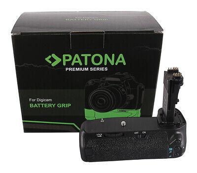 PATONA Premium Batteriegriff für Canon EOS 70D 80D BG-E14H für 2 LP-E6 Akkus